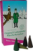 Crottendorfer incense cones - varied mix