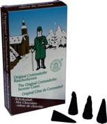 Crottendorfer incense cones - chocolate