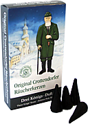 Crottendorfer incense cones -Three-Kings-scent