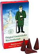 Crottendorfer incense cones - magic of fireplace