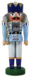 nutcracker king pale blue