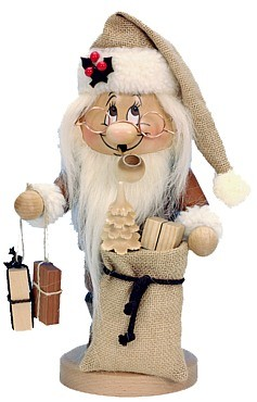 incense smoker, imp Santa Claus
