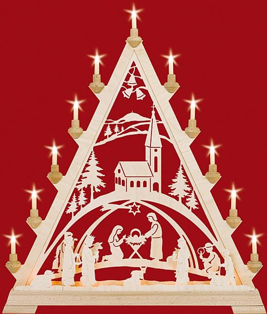 Taulin Große Spitze - Christgeburt mit Kirche