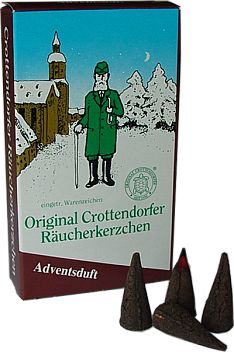 Crottendorfer Räucherkerzen Adventsduft