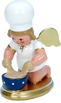 Baker Angel with Baking dish