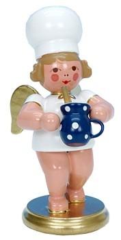 Baker Angel with milk pot