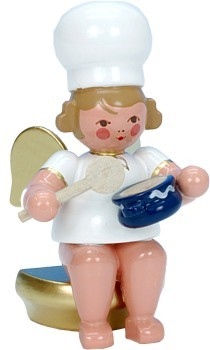 Baker Angel with Stirring spoon