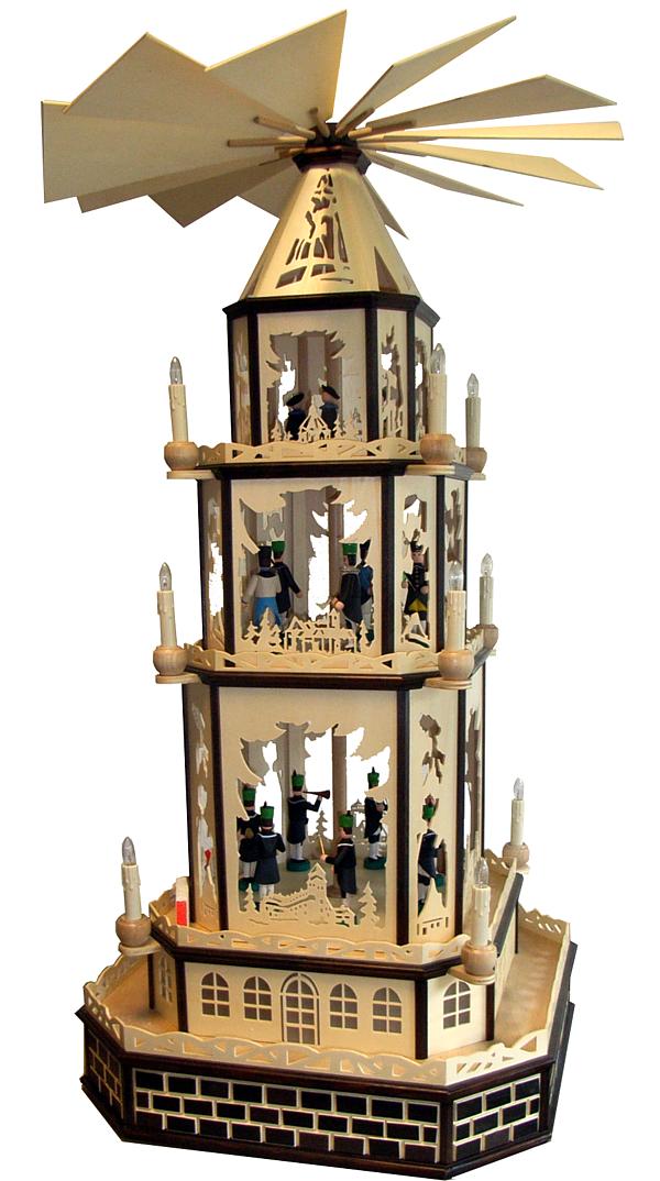 "Christmas pyramid, ""castles and palaces"""