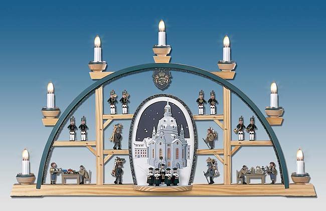 Manufaktur Klaus Kolbe Schwibbogen mit Frauenkirche für 352,00 €