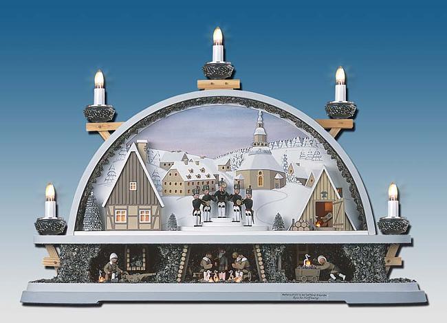 manufaktur klaus kolbe schwibbogen kapelle f r 648 56. Black Bedroom Furniture Sets. Home Design Ideas