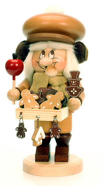 incense smoker, imp gingerbread salesman