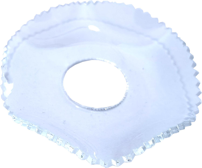 Lichtmanschette, gezackt - 15 x 50 mm