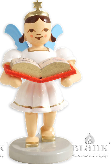 Blank Kurzrockengel mit Märchenbuch, farbig
