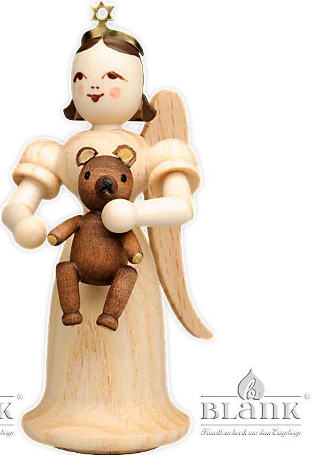 Blank Langrockengel mit Teddy