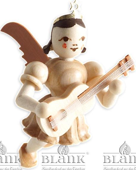 Blank Schwebeengel mit Gitarre
