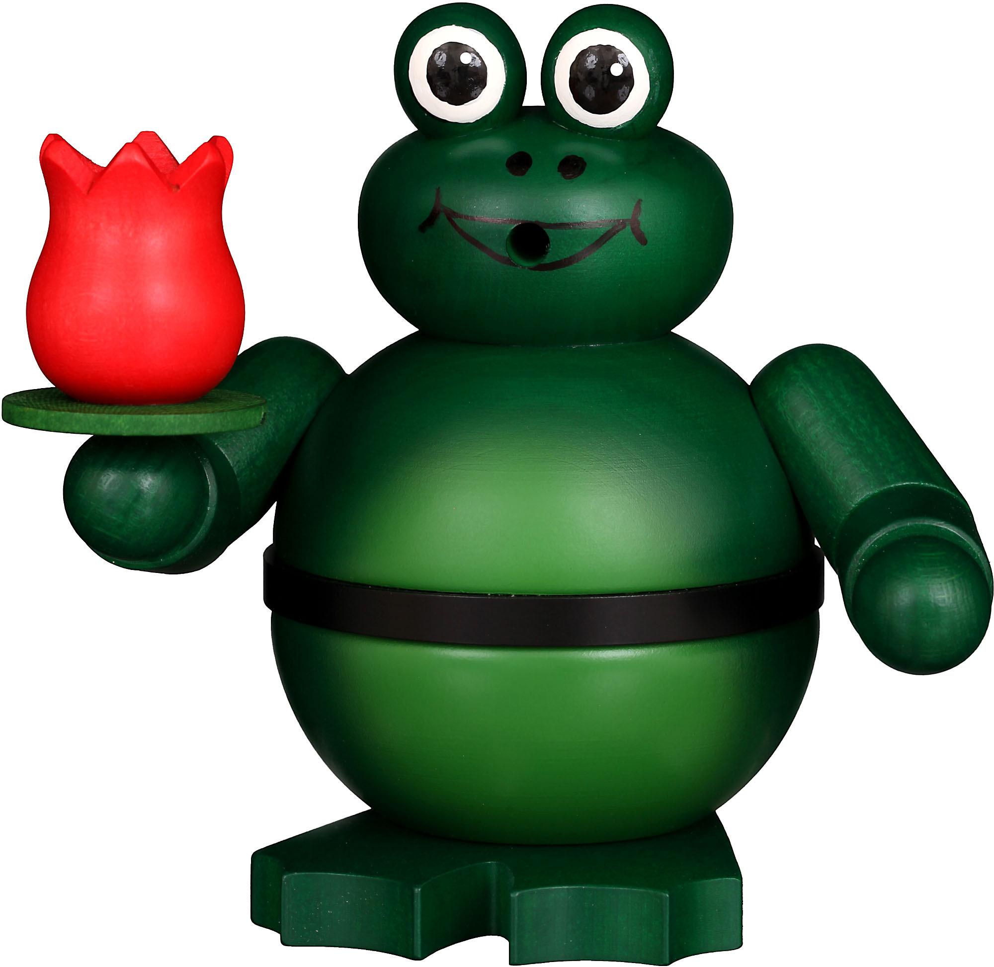 Christian Ulbricht Räucherfigur Frosch