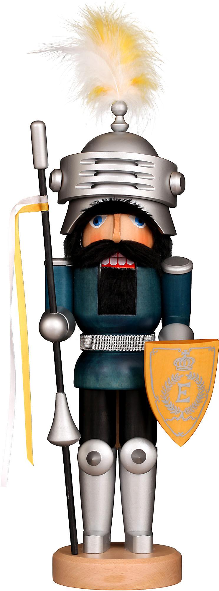 Christian Ulbricht Nussknacker Ritter Lancelot, lasiert