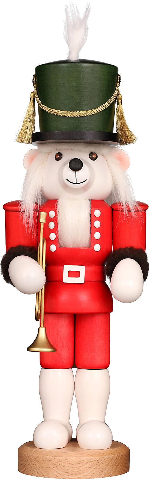 Christian Ulbricht Nussknacker Teddy Jack - Der Polarbär