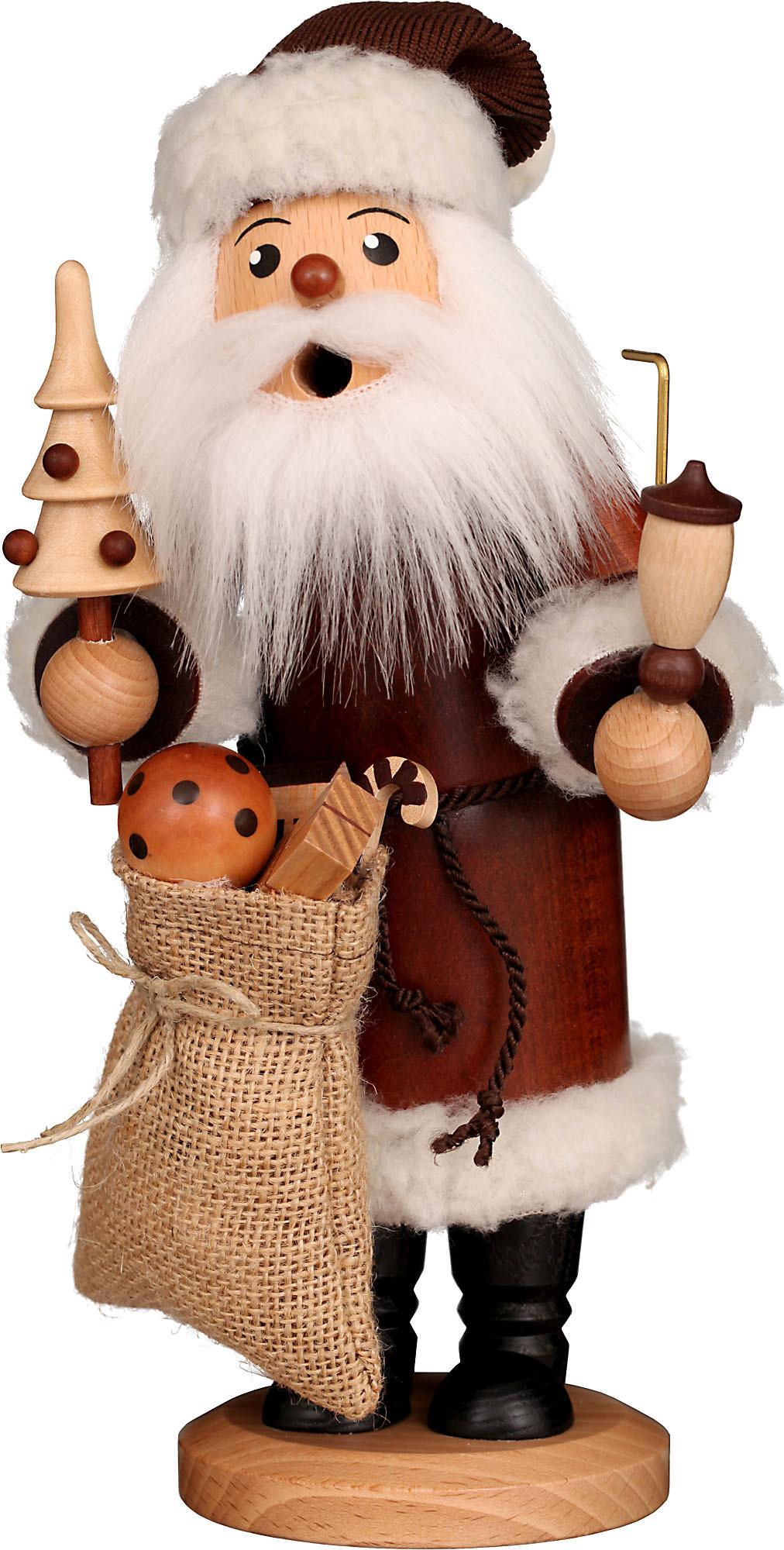 Christian Ulbricht Räuchermann Weihnachtsmann natur