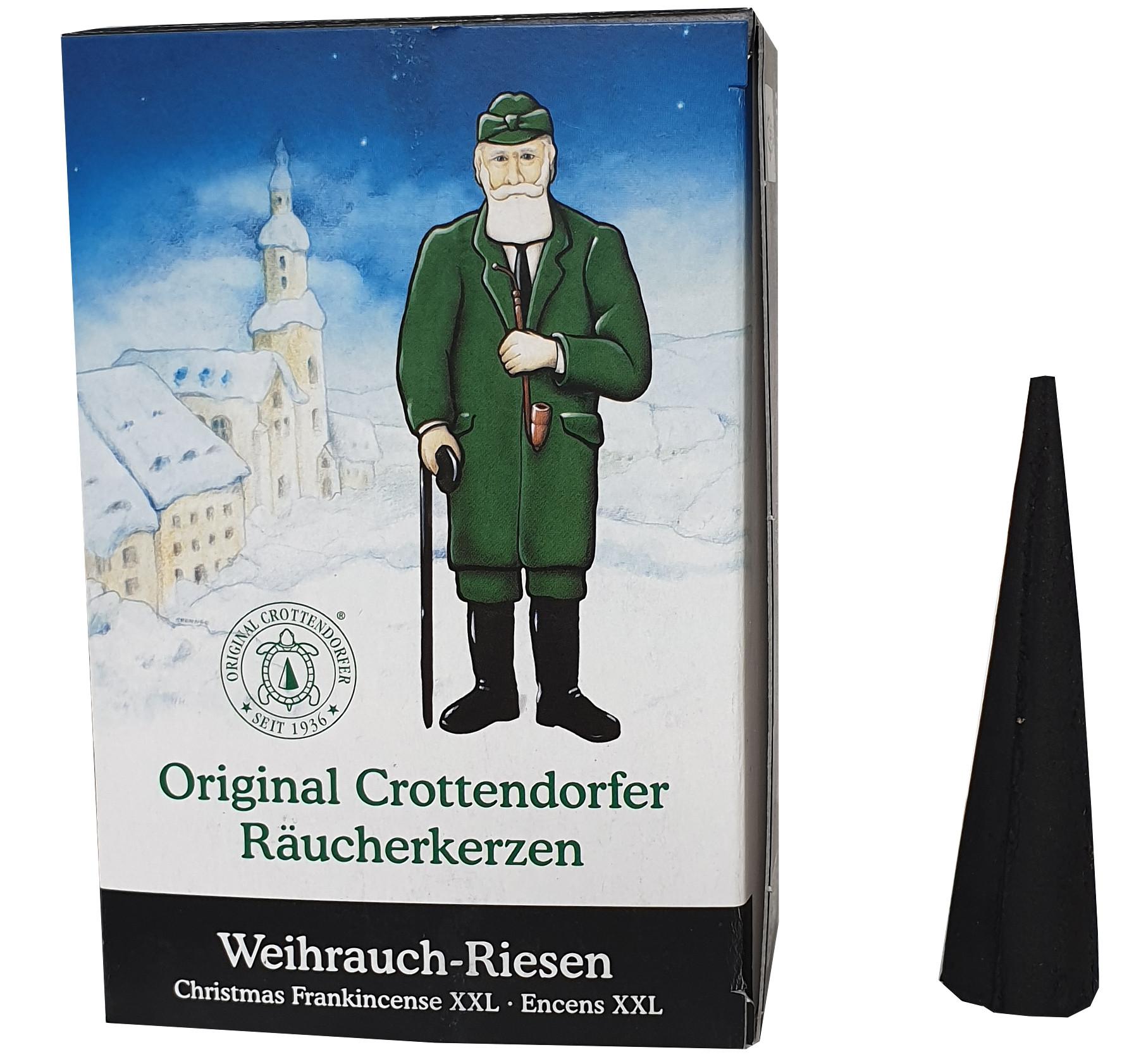 Crottendorfer Räucherkerzen Weihrauch-Riesen XXL, 20 St