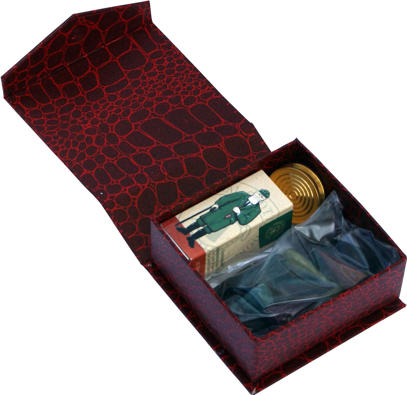Crottendorfer Geschenkbox Wunschduft mit Messingschale