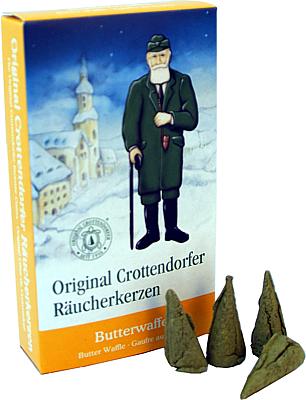 Crottendorfer Räucherkerzen Butterwaffel