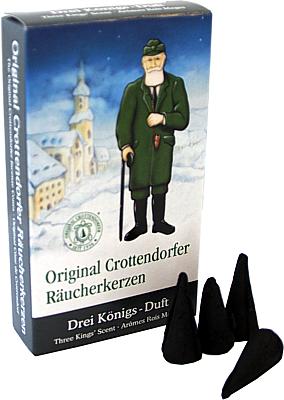 Crottendorfer Räucherkerzen Drei-Königs-Duft