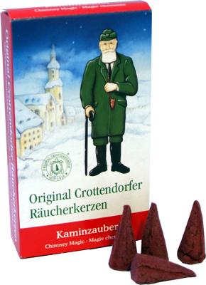 Crottendorfer Räucherkerzen Kaminzauber
