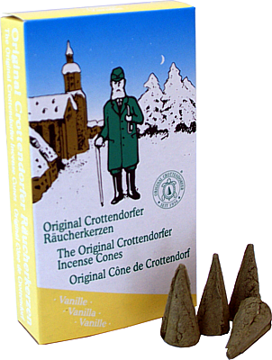 Crottendorfer Räucherkerzen Vanille