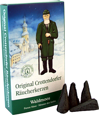 Crottendorfer Räucherkerzen Waldmoos