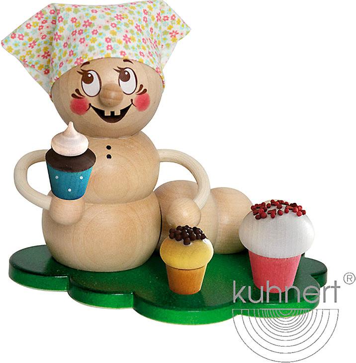 Drechslerei Kuhnert Rauchwurm Rosi mit Muffins