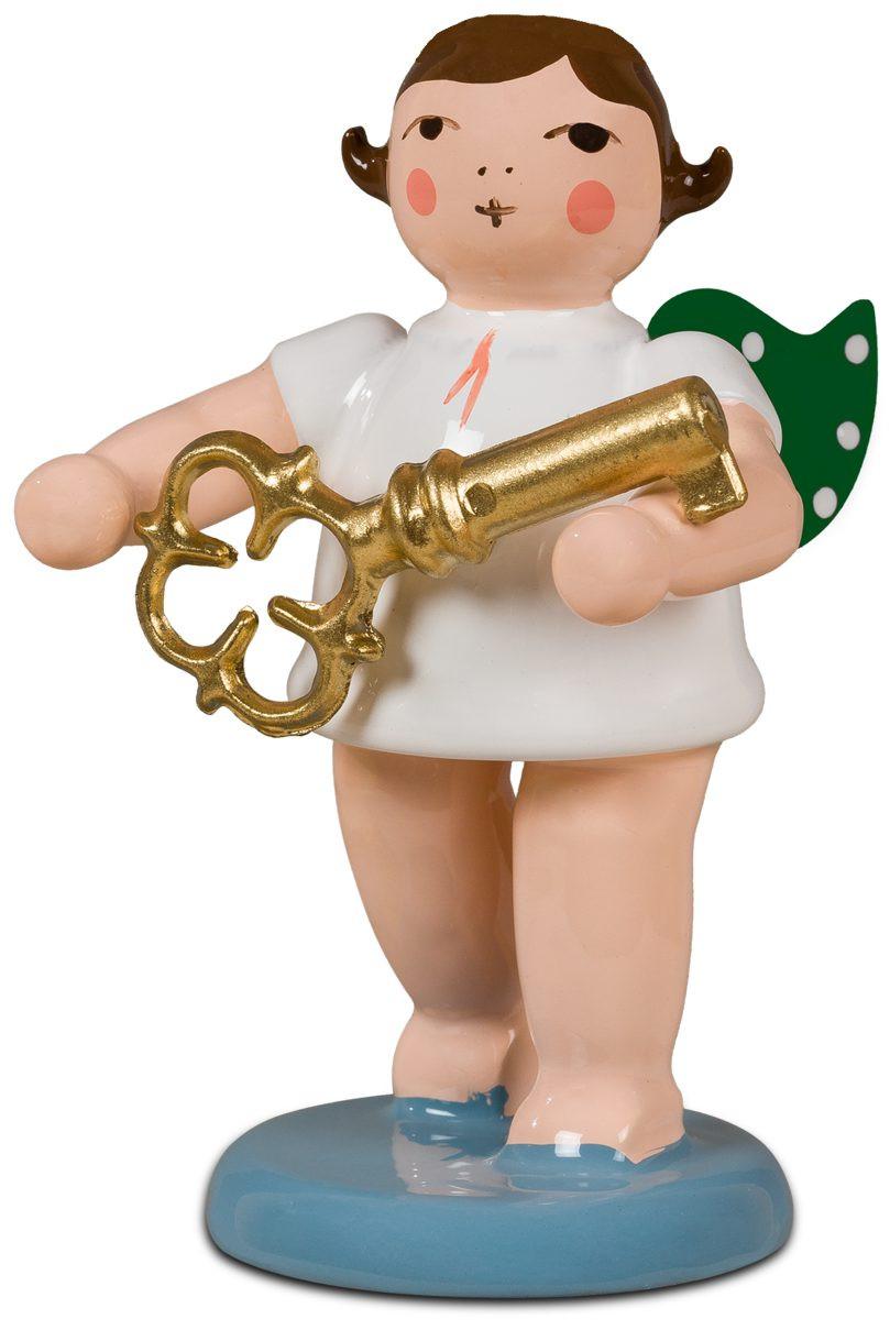 Ellmann Adventengel mit Schlüssel, ohne Krone