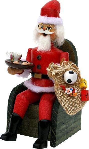 Armin Braun Räuchermann Weihnachtsmann Santa Claus
