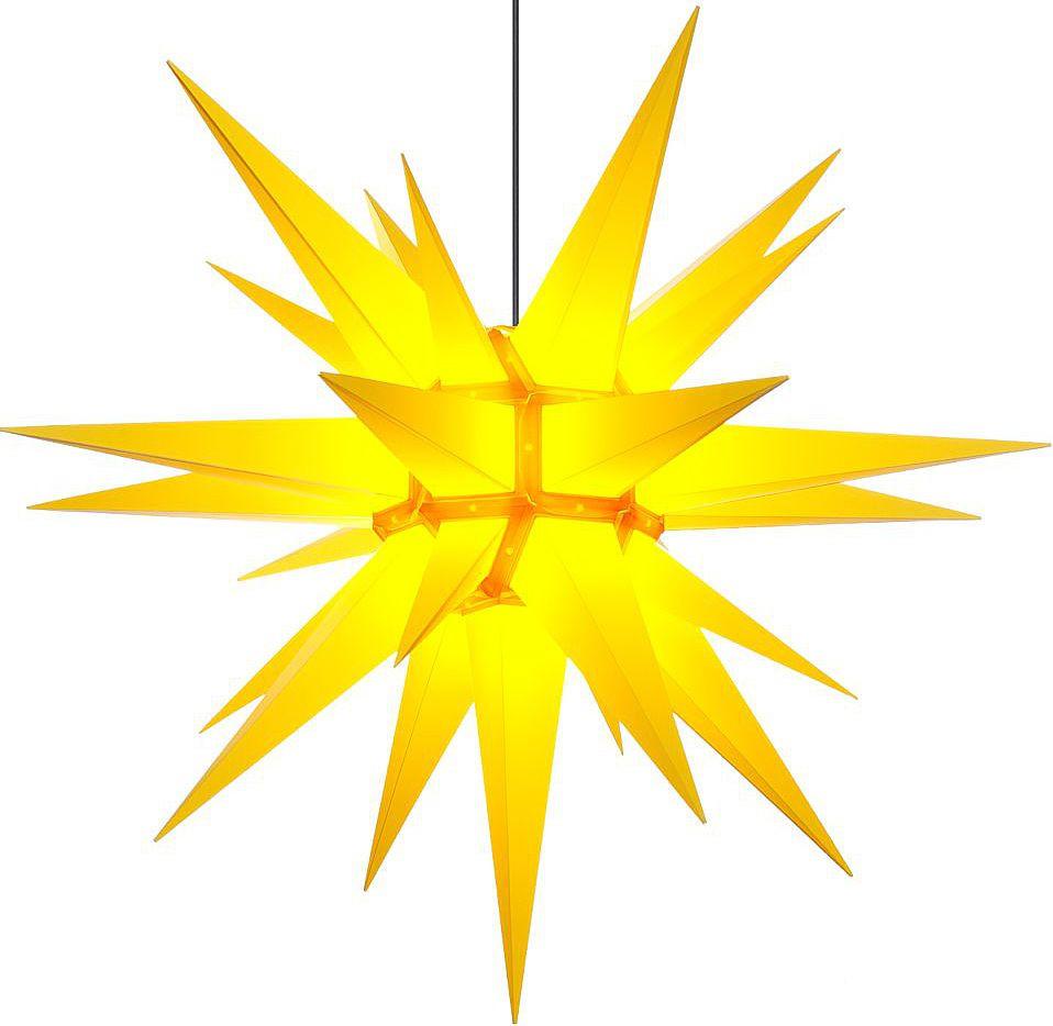 Herrnhuter Stern A13 für Außen, gelb- 130 cm