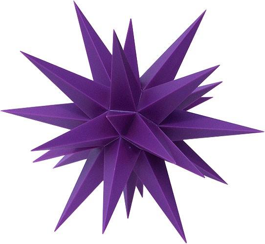 kleiner herrnhuter stern violett f r 13 00. Black Bedroom Furniture Sets. Home Design Ideas