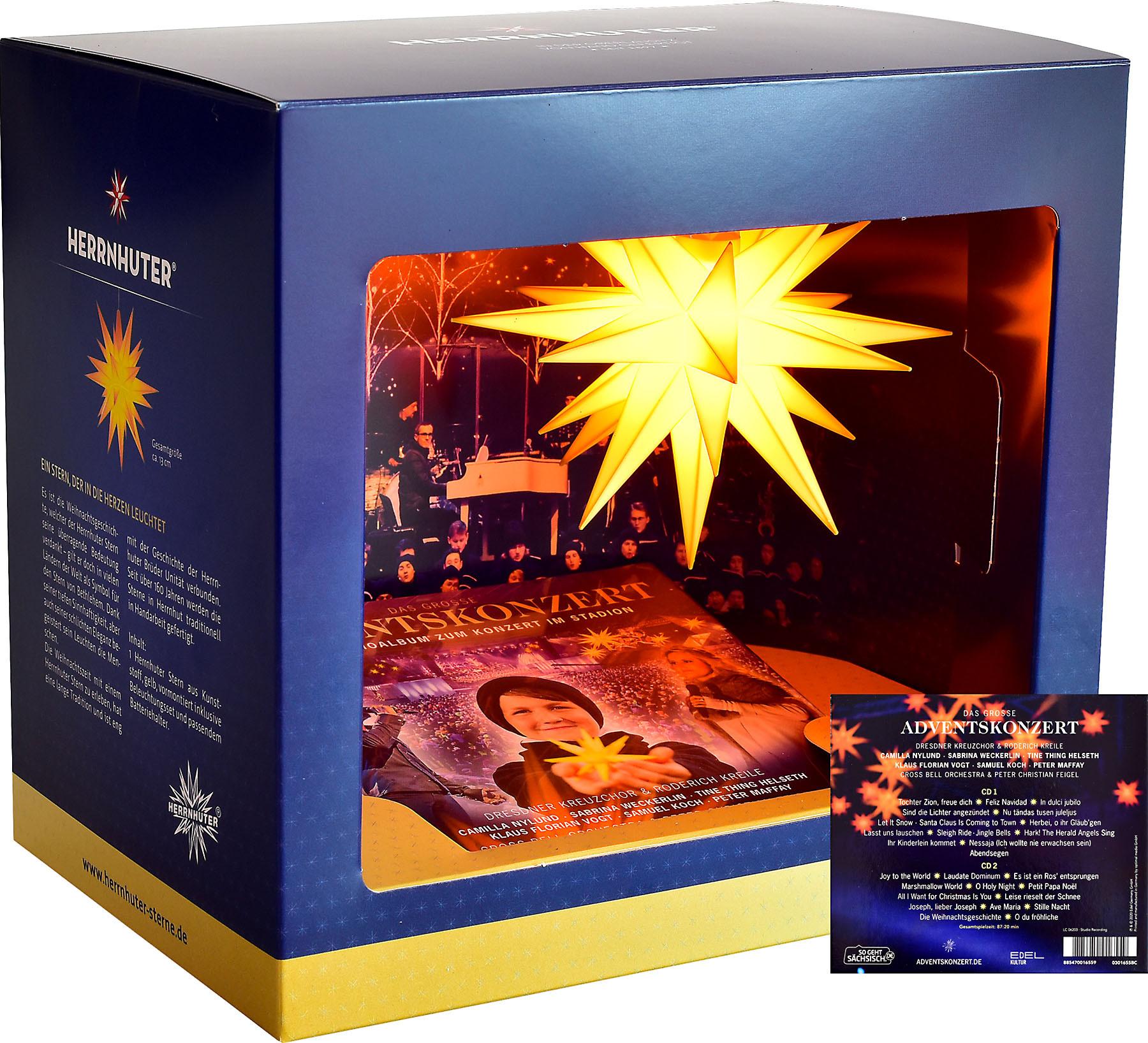 Herrnhuter Geschenkverpackung Das große Adventskonzert