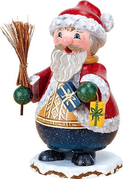 Hubrig Volkskunst Räucherwichtel Weihnachtsmann Nico