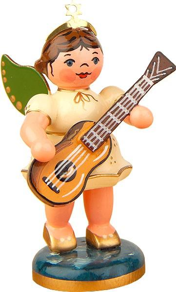 Hubrig Volkskunst Engel mit Konzertgitarre