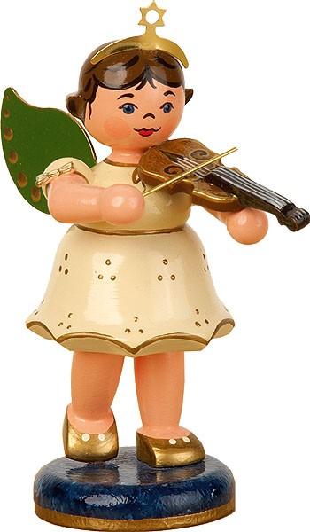 Hubrig Volkskunst Engel mit Geige