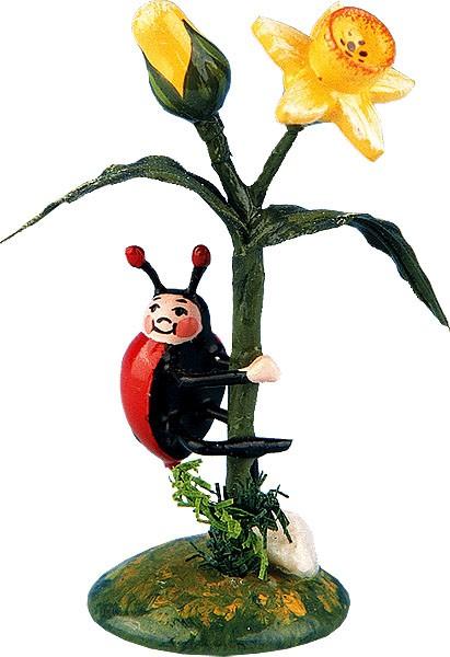 miniatures - ladybird-narcissus