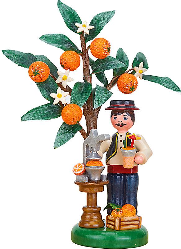 Hubrig Volkskunst Jahresfigur 2021 - Orange