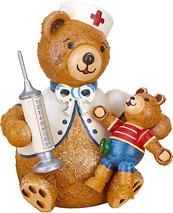 Hubrig Volkskunst Hubiduu Teddy - Erste Hilfe