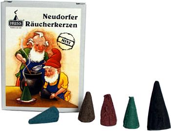 Huss Mini-Räucherkerzen Bunte Mischung