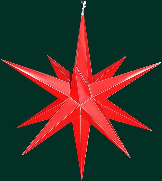 Haßlauer Advent-Außen-Stern, rot, groß