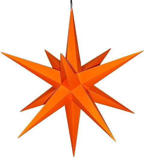 Haßlauer Advent-Außenstern, orange