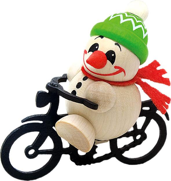 Karsten Braune Holzfigur Cool Man - Fahrrad Junior