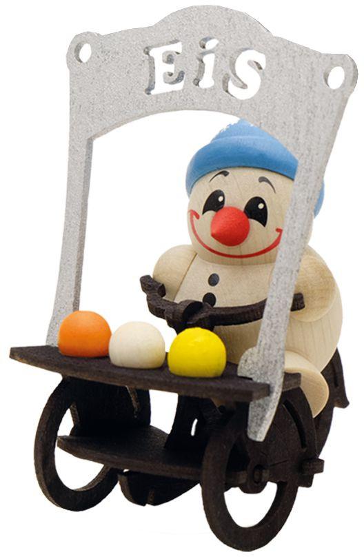 Karsten Braune Holzfigur Cool Man - Eisverkäufer
