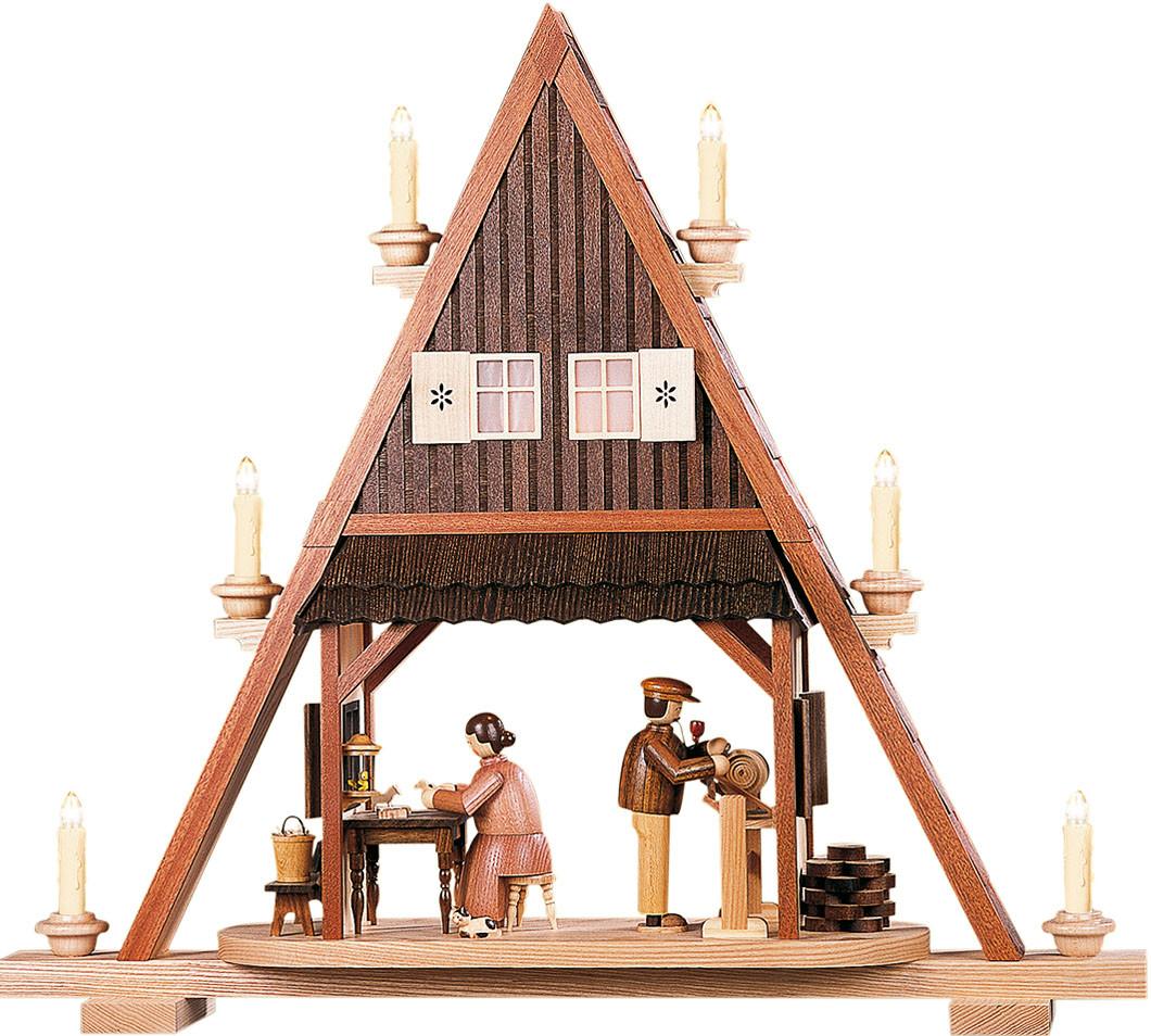Kleinkunst Müller Giebelspitze Spielzeugmacher