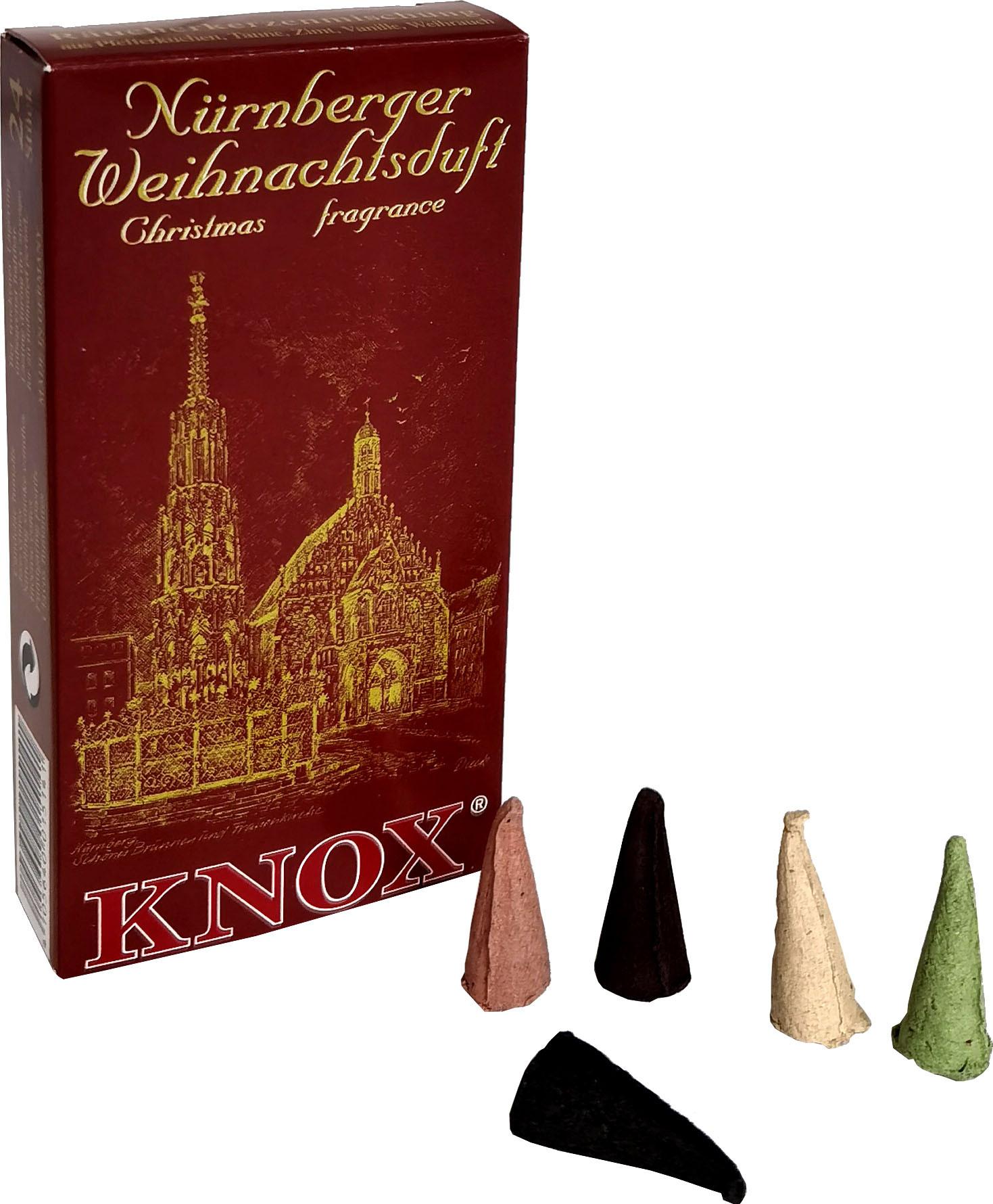 KNOX Räucherkerzen - Städteduft - Nürnberger Weihnachtsduft