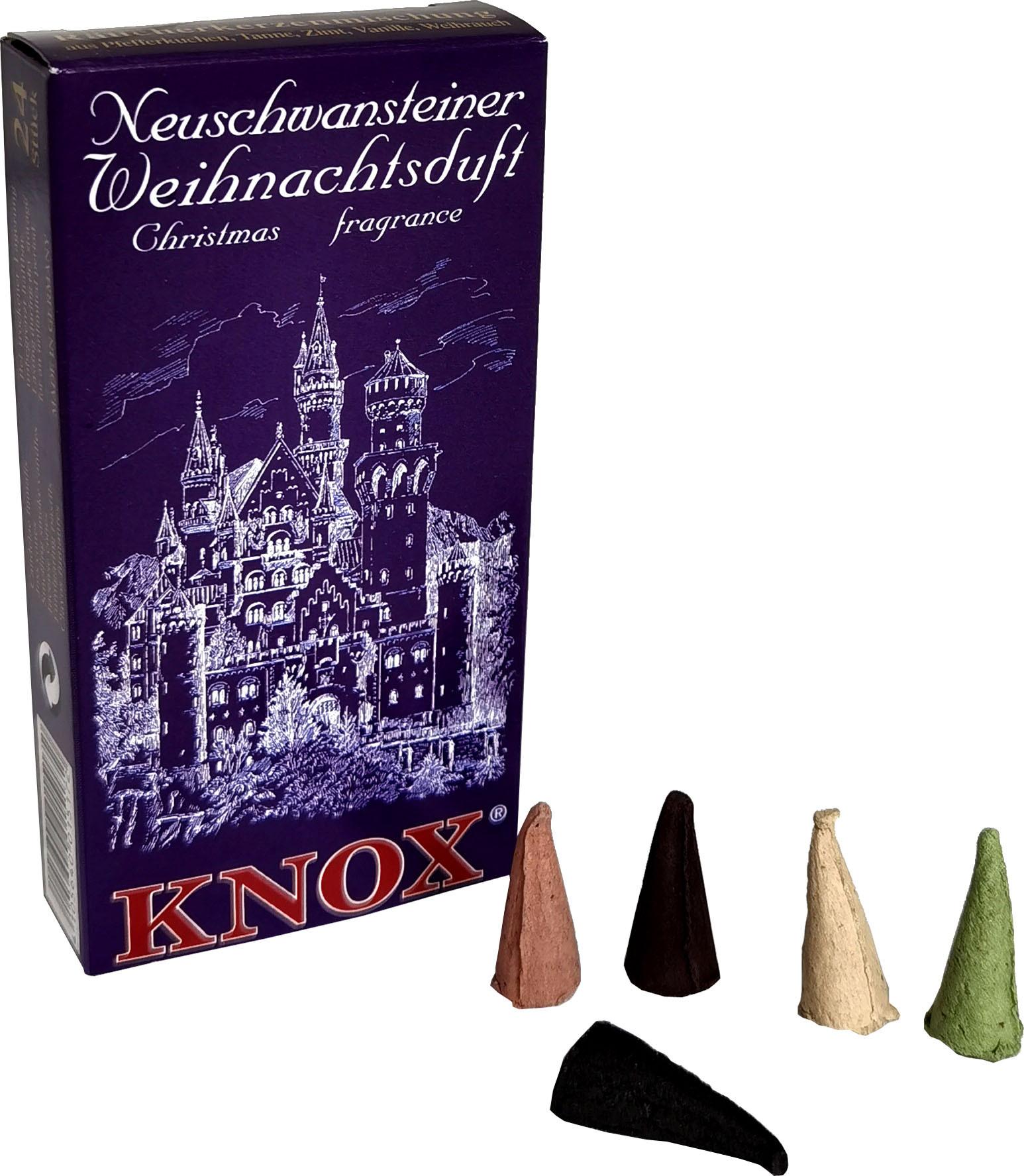 KNOX Räucherkerzen - Städteduft - Neuschwansteiner Weihnachtsduft